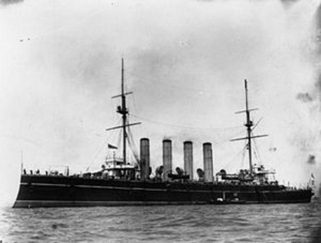 HMS Europa.