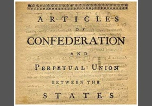 the articles of confederation the path The importance of the articles of confederation is that they determined what happened in the united states the path to revolution.