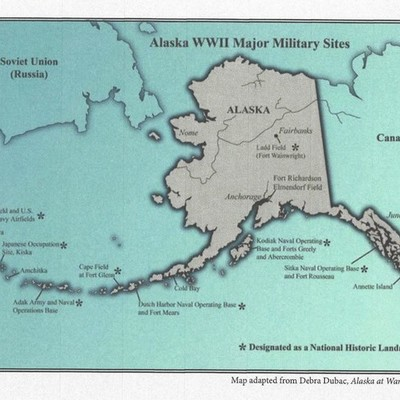World War II Strikes Alaska timeline