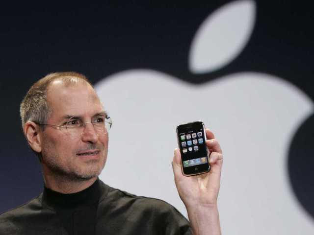 El smartphone que revoluciono el mercado (Iphone, Apple)