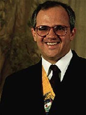 Es elegido Presidente Ernesto Samper