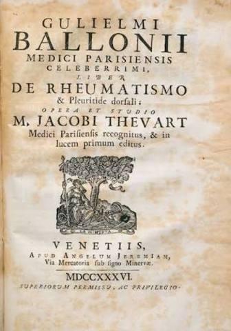 """Guillaume de Baillou publicó """"sobre epidemias"""""""