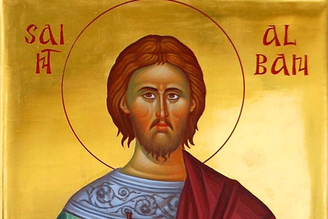 St Alban becomes the 1st Christian martyr