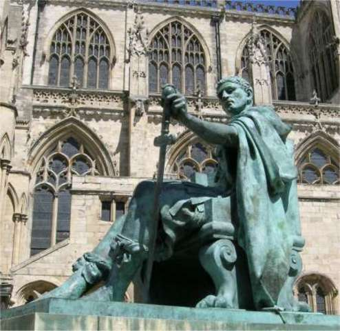 Constantine the Great declared Emperor at York