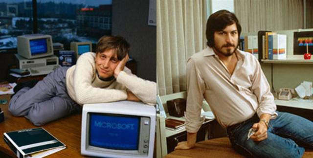 Steve y Bill