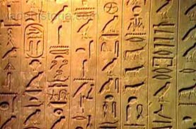 Egipcios (3300 AC)