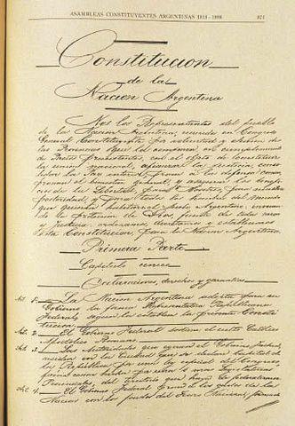 Cambio Constitucion