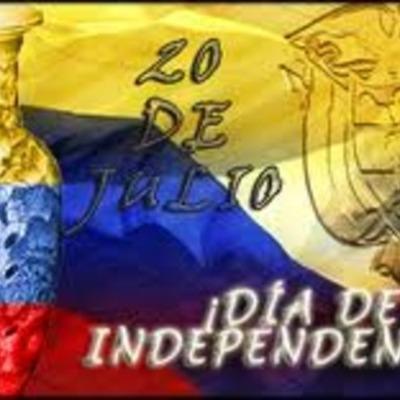Evolucion historico politica de Colombia timeline