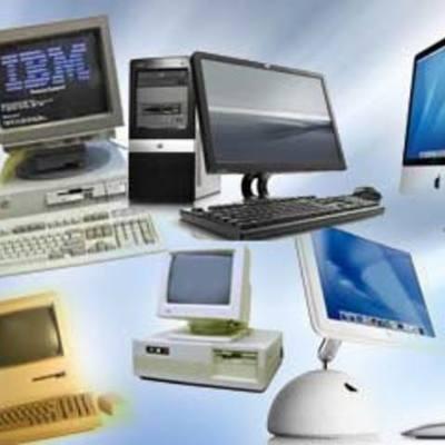 Evolução dos Computadores timeline