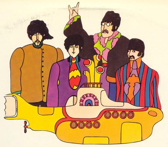 "The Beatles release ""Yellow Submarine"""