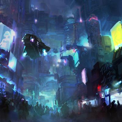 Cyberpunk Novels timeline
