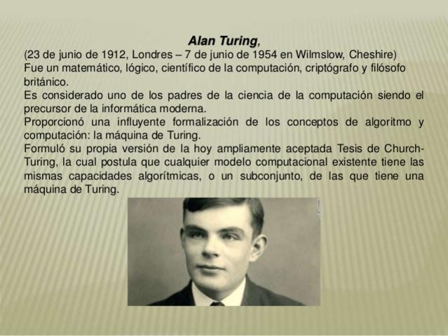 Computadora Colossus de Alan Turing