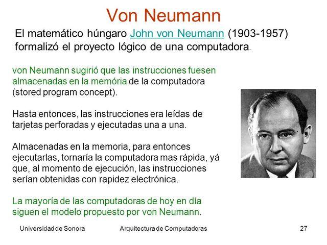 Inicio del proyecto EDVAC o Máquina de Von Neumann