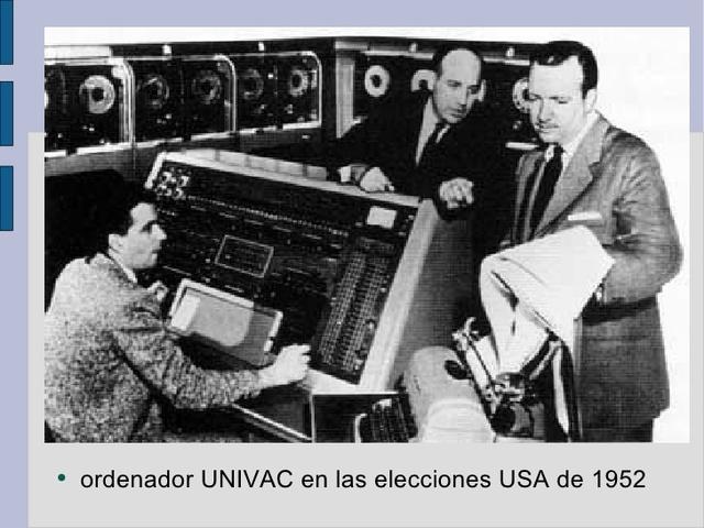 Importancia de la UNIVAC
