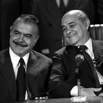 Tancredo Neves e José Sarney timeline
