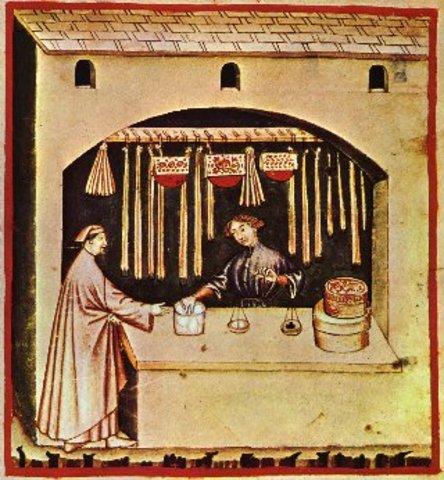 Se utiliza el azúcar por primera vez en alimentos y como forma de pago.