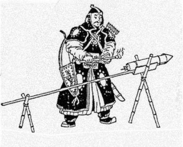 Los chinos inventan los explosivos.