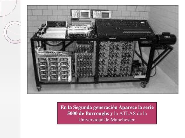 SEGUNDA GENERACIÓN (1958-1954)