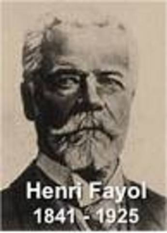 14 principles of henry feyol Fayol has proposed that there are five primary functions of  chapter: principles  of management  the 14 principles of administration.