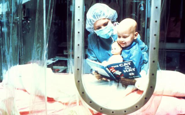 Terapia génica en niños.
