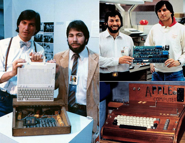 Steve Jobs y La apple 1