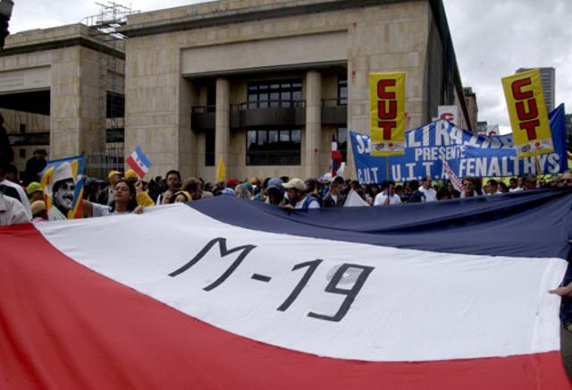 Fin del grupo M-19 y nace  La alianza democratica M-19