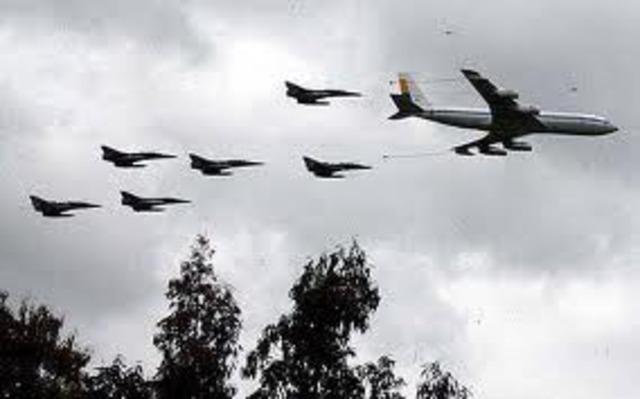 Creacion fuerza aerea Colombiana