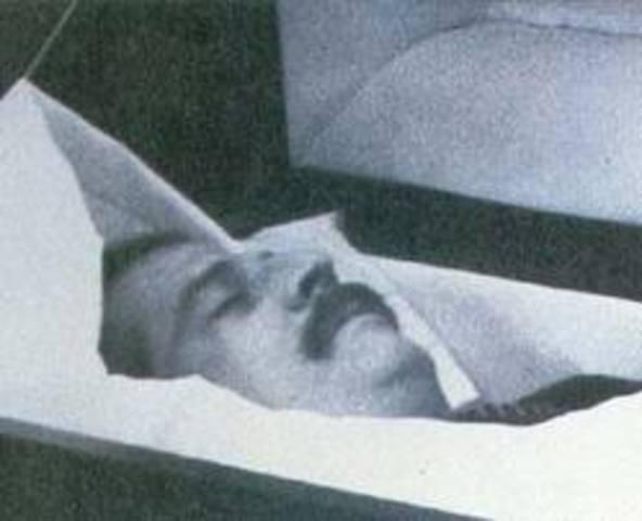 Muerte de Galan