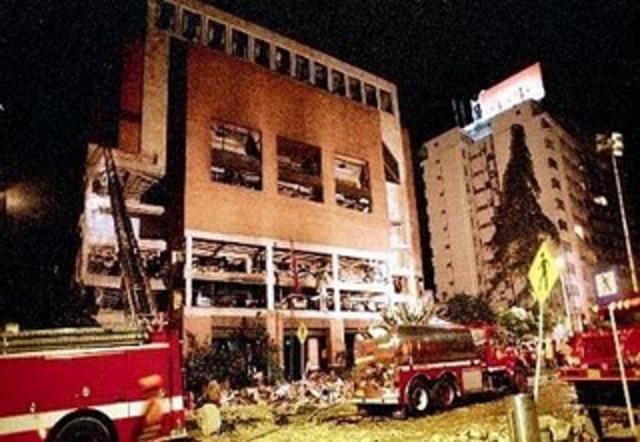 Ataque terrorista al club el Nogal, Bogota