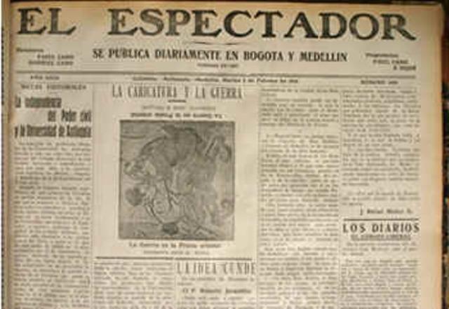 Presidente Gustavo Rojas Clausura El Tiempo Y El Espectador