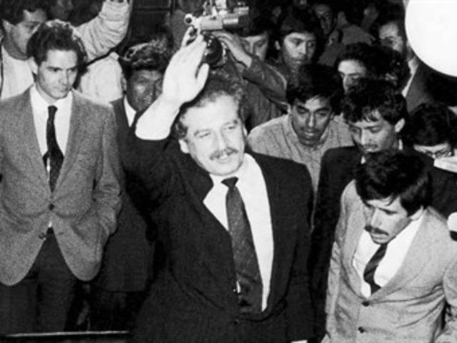 Asesinato Del Candidato Carlos Galán