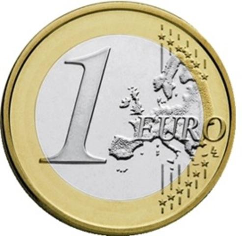 El Euro, entra en circulación en 12 países de la UE