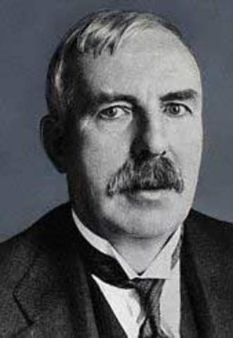 Rutherford confirmó la teoría del primer modelo atómico de Hantaro Nagaoka