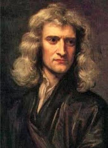Isaac Newton formuló las leyes clásicas de la dinámica y la ley de la gravitación universal
