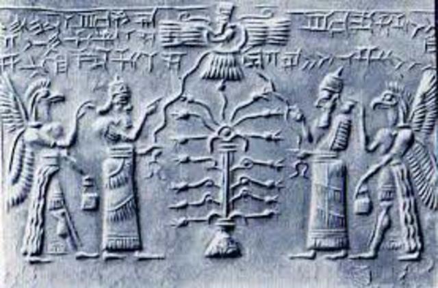 Los sumerios lograron profundos conocimientos astrológicos, midieron el número de los meses dentro del ciclo de estaciones.