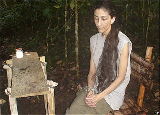 Secuestrada Indrig Betancourt