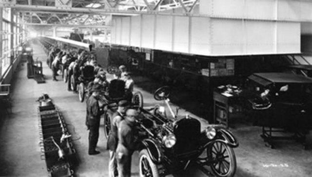 HENRY FORD- SISTEMA DE PRODUCCIÓN DE LÍNEA 1913