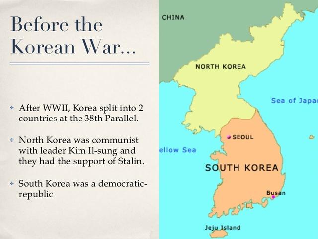Korean war map timeline karmashares llc leveraging korea is split gumiabroncs Image collections