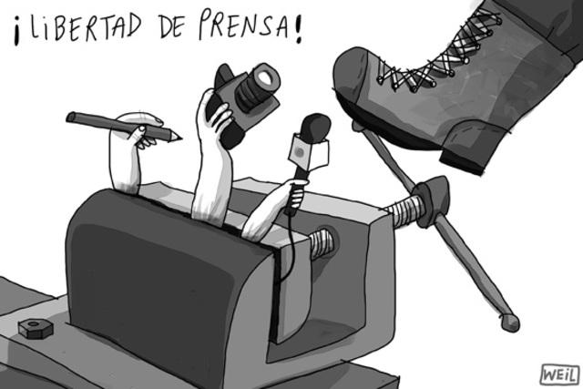 Libertad de prensa.