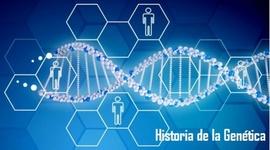 Historia de la Genética. timeline