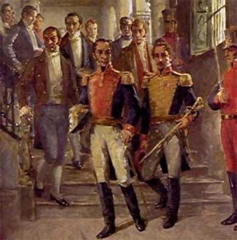 Simon Bolivar vs España
