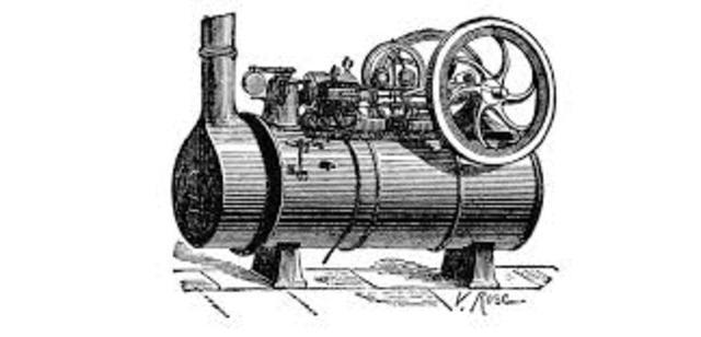 Watt inventa el motor a vapor moderno.