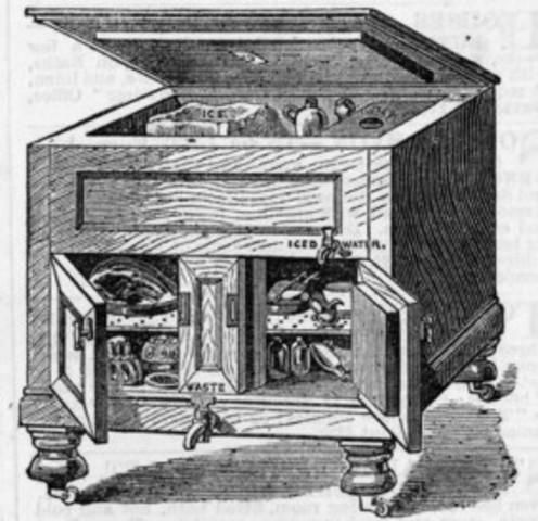 Primeros refrigeradores caseros.