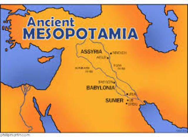 Civilizaciones antiguas: 2500 AC