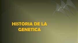 Línea de tiempo sobre la historia de la Genética timeline