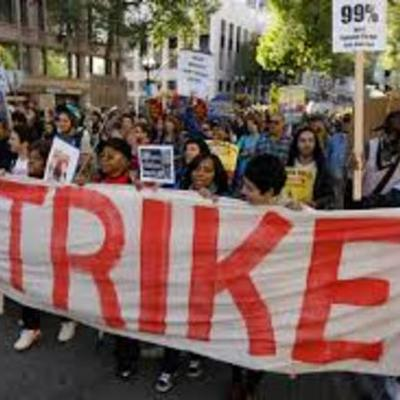 Andrei, Matthew, Justin Labor Unions And Strikes timeline