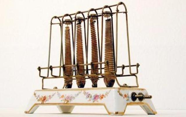 What Was The First Electric Toaster ~ The history of management andrea jones timeline