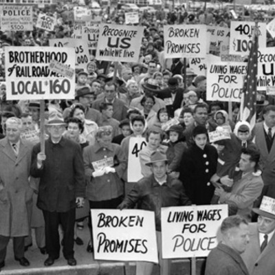 Labor Unions and Strikes (18.3) Timeline by Aliyar, David, and Trey