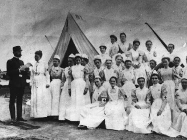 Organizacion y de dirección de Florence Nightingale: