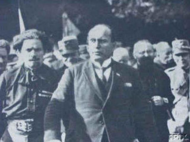 Benito Mussolini y su ascenos al poder